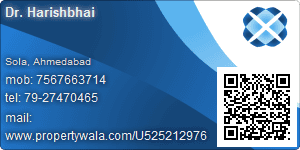 Dr. Harishbhai - Visiting Card