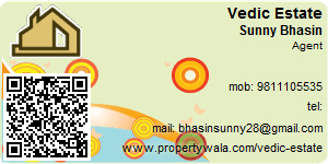Visiting Card of Vedic Estate