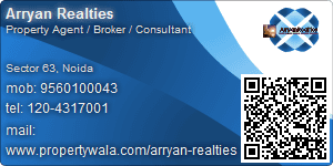 Arryan Realties - Visiting Card