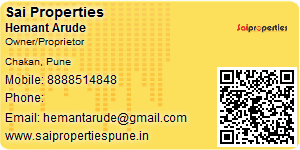 Hemant Arude - Visiting Card
