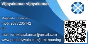 Vijayakumar Vijayakumar - Visiting Card