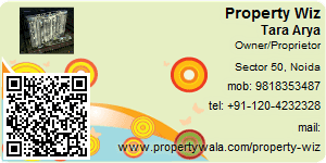 Visiting Card of Property Wiz