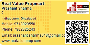 Visiting Card of Real Value Propmart