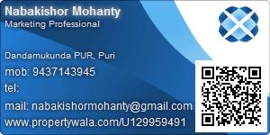 Nabakishor Mohanty - Visiting Card