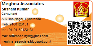 Sushant Kumar - Visiting Card