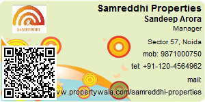 Visiting Card of Samreddhi Properties