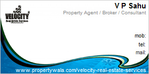 Visiting Card of Velocity Real Estate Services