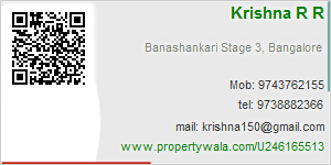 Krishna R R - Visiting Card