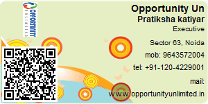 Visiting Card of Opportunity Unlimited