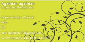 Agathian agathian - Visiting Card