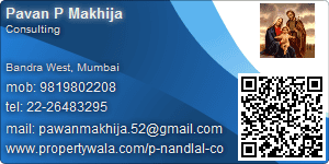 Pavan P Makhija - Visiting Card