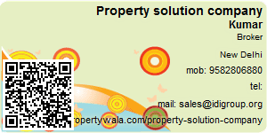Visiting Card of Property solution company