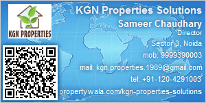 Visiting Card of KGN Properties Solutions