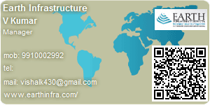 Visiting Card of Earth Infrastructure Ltd.