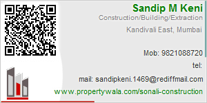 Sandip M Keni - Visiting Card