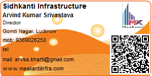 Visiting Card of Vasundhara Associates