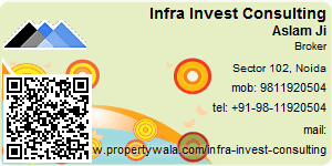 Visiting Card of Infra Invest Consulting