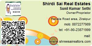 Sunil Kumar Sethi - Visiting Card