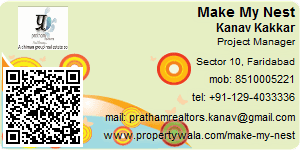 Visiting Card of Make My Nest