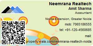 Visiting Card of Neemrana Realtech Pvt Ltd