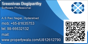 Sreenivas Dogiparthy - Visiting Card