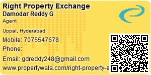 Damodhar Reddy G - Visiting Card