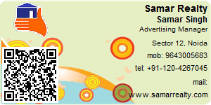 Visiting Card of Samar Realty