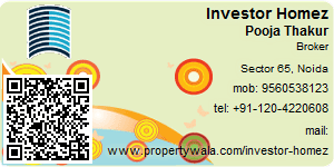 Visiting Card of Investor Homez