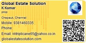 K Kumar - Visiting Card