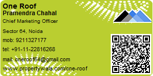Visiting Card of One Roof