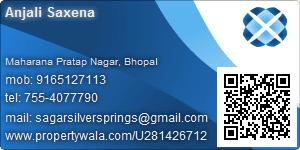 Anjali Saxena - Visiting Card