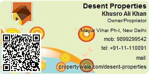 Visiting Card of Desent Properties