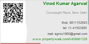Vinod Kumar Agarwal - Visiting Card