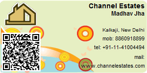 Visiting Card of Channel Estates