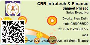 Visiting Card of CRR Infratech & Finance Pvt Ltd