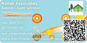 Kailash Chand Sutrakar - Visiting Card