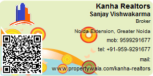 Visiting Card of Kanha Realtors Pvt Ltd