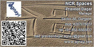 Visiting Card of NCR Spaces