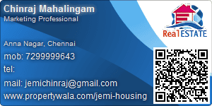 Chinraj Mahalingam - Visiting Card