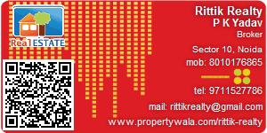P K Yadav - Visiting Card