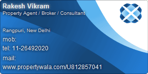 Rakesh Vikram - Visiting Card
