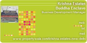 Visiting Card of Krishna Estates