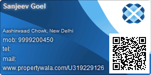 Sanjeev Goel - Visiting Card