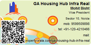 Visiting Card of GA Housing Hub Infra Real Pvt Ltd