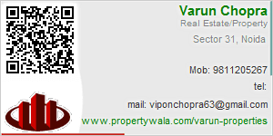 Visiting Card of Varun Properties