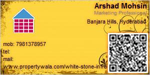 Arshad Mohsin - Visiting Card