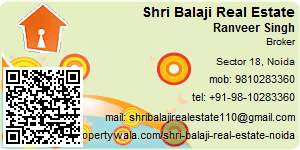 Visiting Card of Shri Balaji Real Estate Pvt Ltd