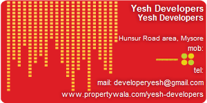 Yesh Developers - Visiting Card