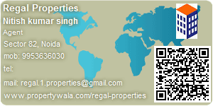 Visiting Card of Regal Properties