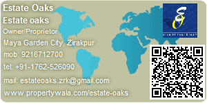 Estate oaks - Visiting Card
